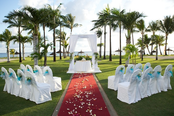 Wedding in Mauritius - Sugar Beach