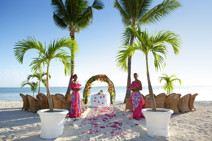 Wedding at Sugar Beach Mauritius